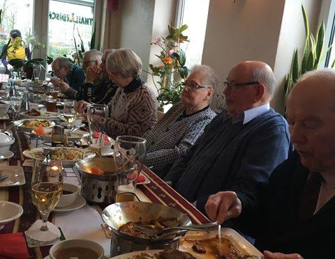 Gemeinsames Essen in Emden