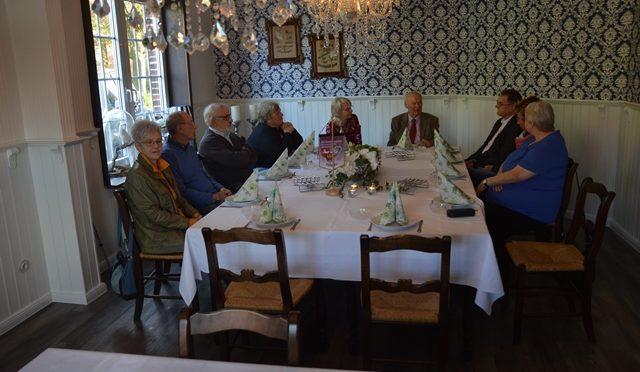 Erste Ostfriesische Spezialitäten auf dem Tisch
